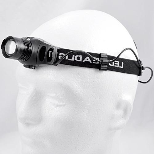 JacobsParts Headlamp Indoor/Outdoor Light and Focus