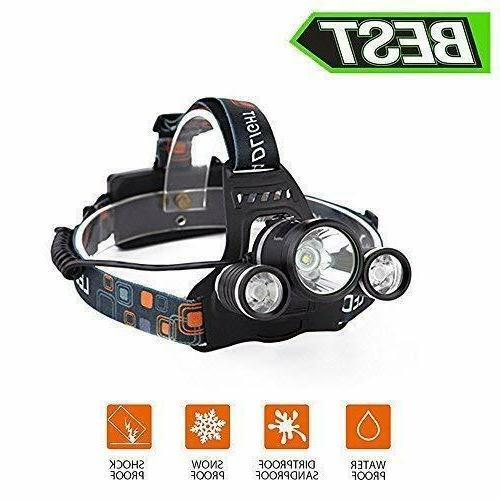 Headlamp LED Brightest Hiking