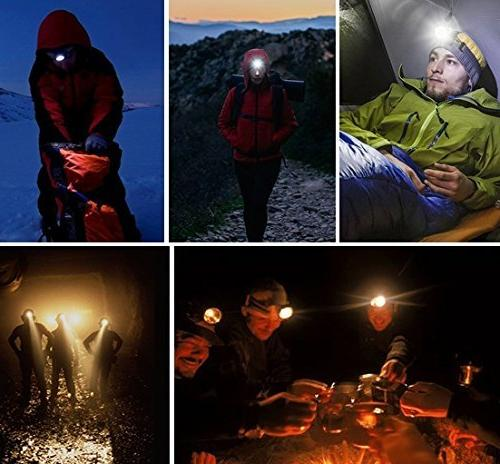 TOMOL 4-Pack 3W Super Flashlight for Camping, Reading, Fishing, Jogging - Durable, Lightweight