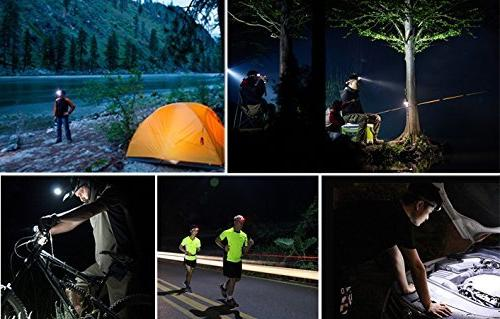 3W Super Flashlight Reading, Fishing, Jogging - Waterproof, Durable,