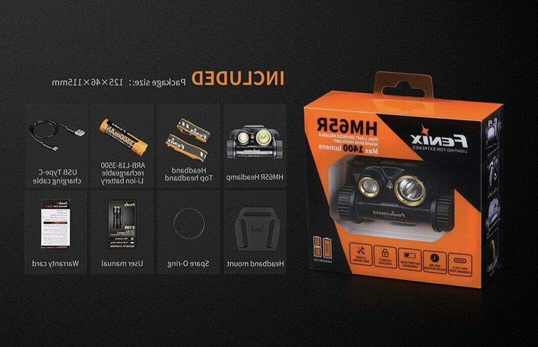 Headlamps - HM65R 1400 Lumens , Rechargeable &