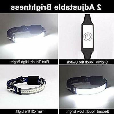 Headlamps Headband Touch
