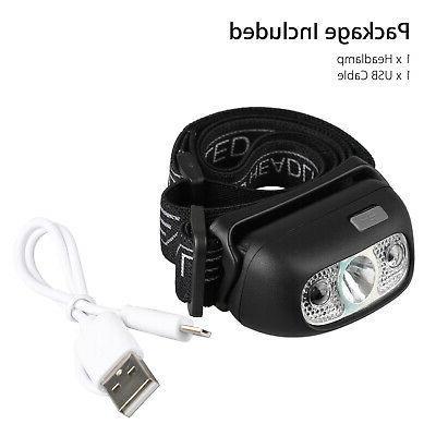 Headlight Head Lamp Flashlight Modes
