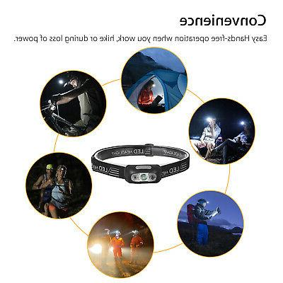 Headlight Band Lamp 4 Modes Rechargeable