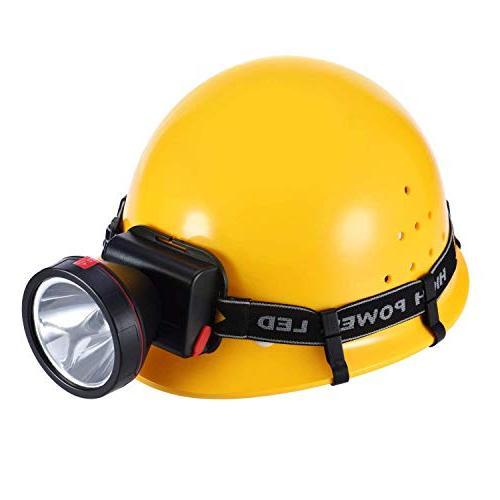 NeeQi 36 Headlamp Clips for Helmet,Headlamp, Safety