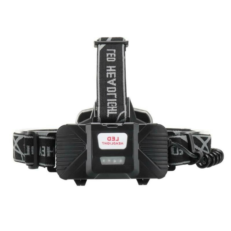 High 350000LM T6 LED Headlight Rechargeable Flashlight USA