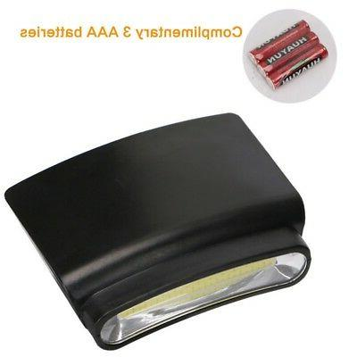 Hiking Camping Clip-on COB LED Hat
