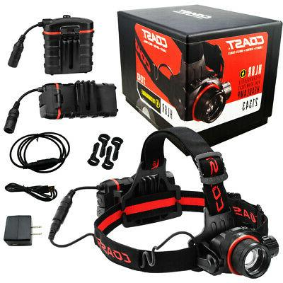 hl8r rechargeable pure beam focus headlamp 21343