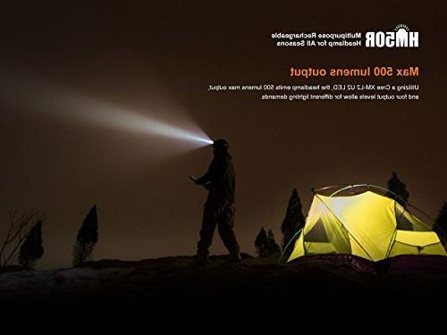 Fenix HM50R 500 Lumens Flashlight PLUS