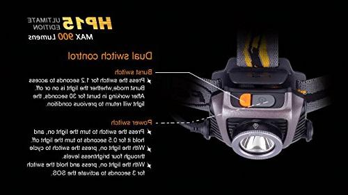 Fenix HP15UE Edition 900 Lumens Expedition with AA Battery