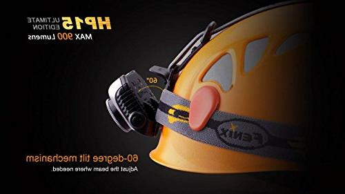 Fenix Ultimate Edition 900 Lumens Expedition Headlamp AA LumenTac Battery Organizer Sample