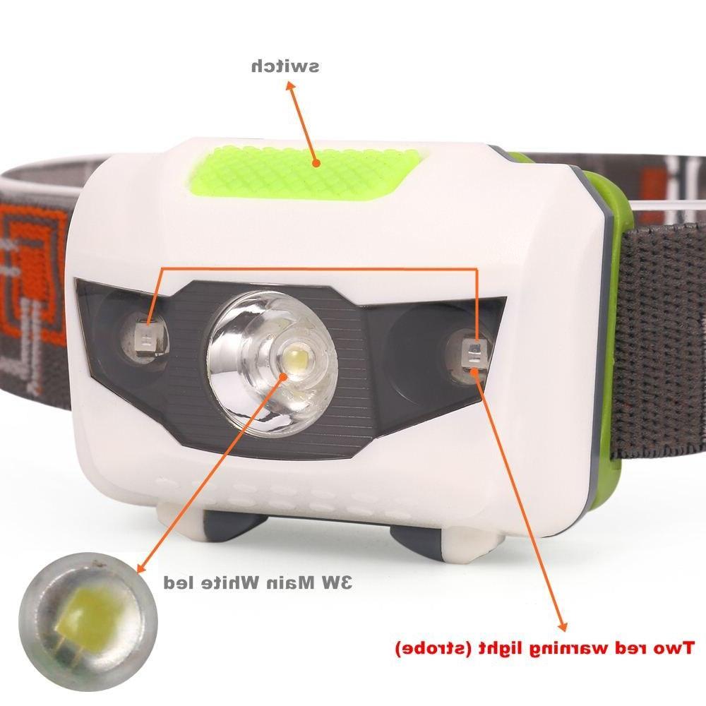 AloneFire HP30 4Mode lightweight Waterproof <font><b>Camping</b></font> Head Proyector Running Head light AAAbattey