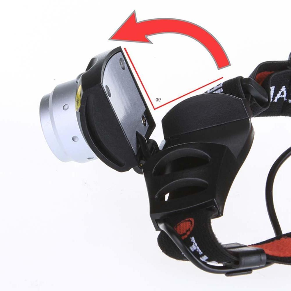 hunting Portable Headlight Bright <font><b>500</b></font> <font><b>Lumen</b></font> Headlight Red
