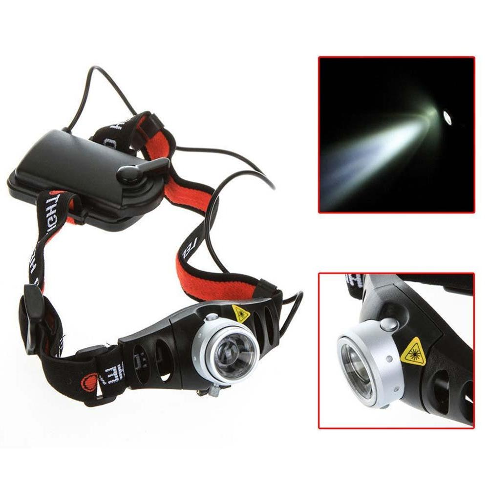 hunting Portable Headlight Ultra <font><b>Lumen</b></font> <font><b>Headlamp</b></font> Headlight Head Red