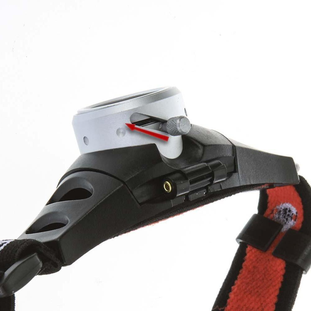 hunting Portable Zoomable Headlight Ultra <font><b>Lumen</b></font> Q5 <font><b>Headlamp</b></font> Headlight Comfortable Head Red