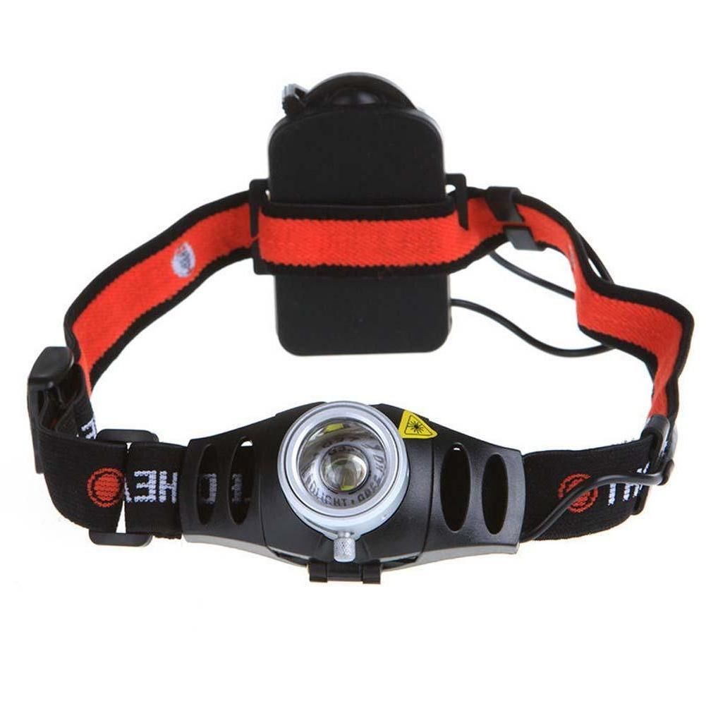 hunting portable zoomable led headlight ultra bright