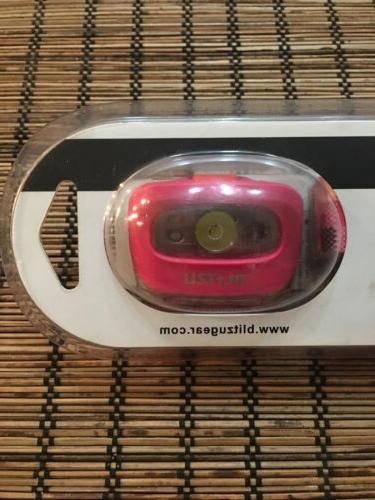 Blitzu Waterproof Headlamp LED Hot Free Shipping