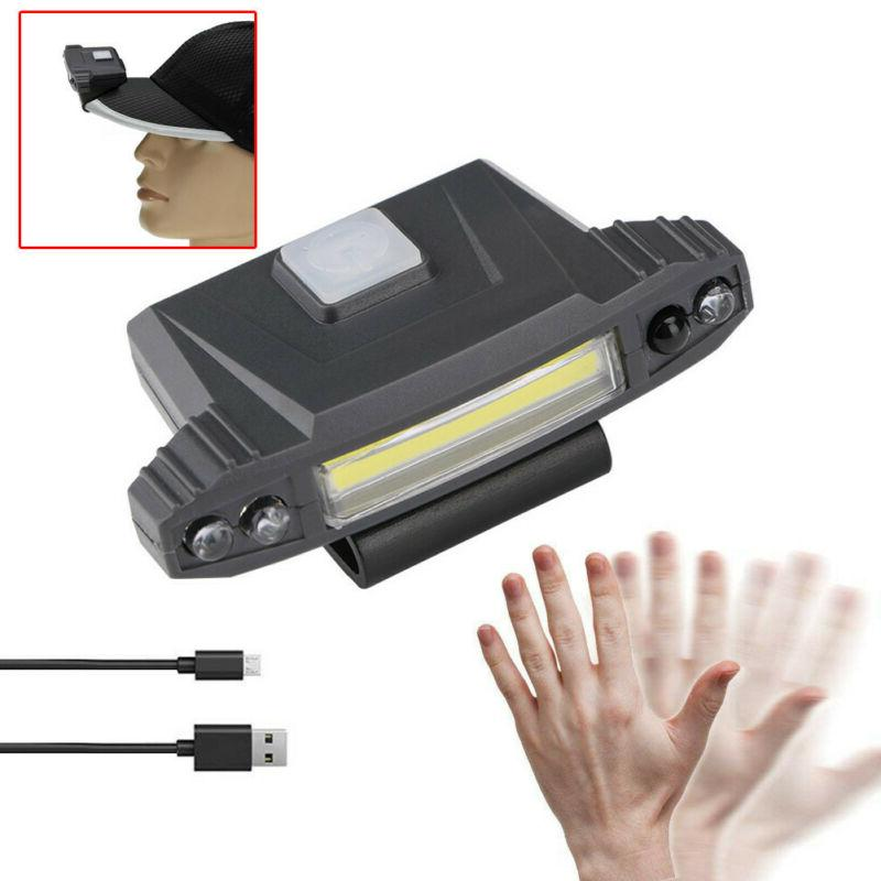 Infrared LED Rechargeable On Hat US