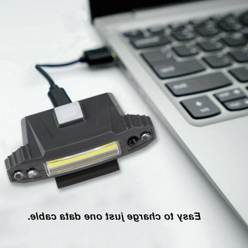 Infrared USB Rechargeable Clip Hat US