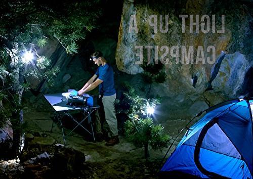 Insane Lantern 1 Lights Brightest Portable Electric Bonus Head lamp Flashlight for Outdoors