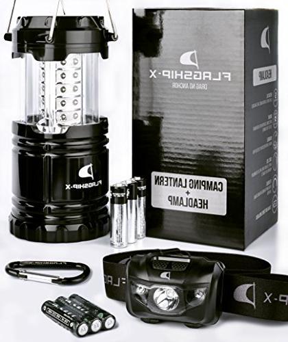 Insane Lantern Lights LED Portable Electric Head lamp Flashlight Outdoors