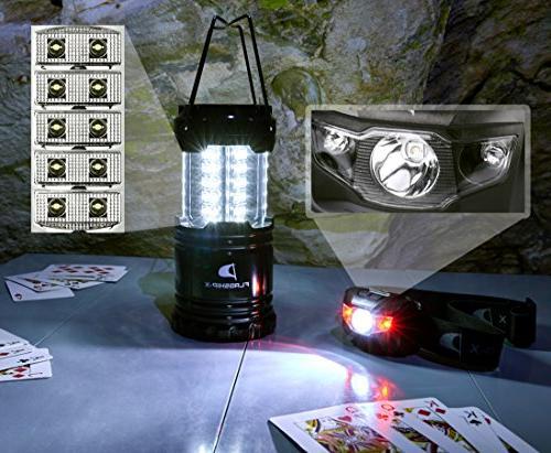 Insane Flagship-X Lantern Headlamp Lights Brightest Portable Electric Bonus Head Flashlight Outdoors