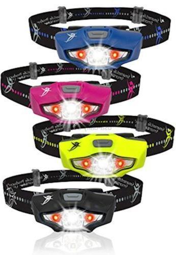 SmarterLife LED Headlamp Flashlight - and Lamp