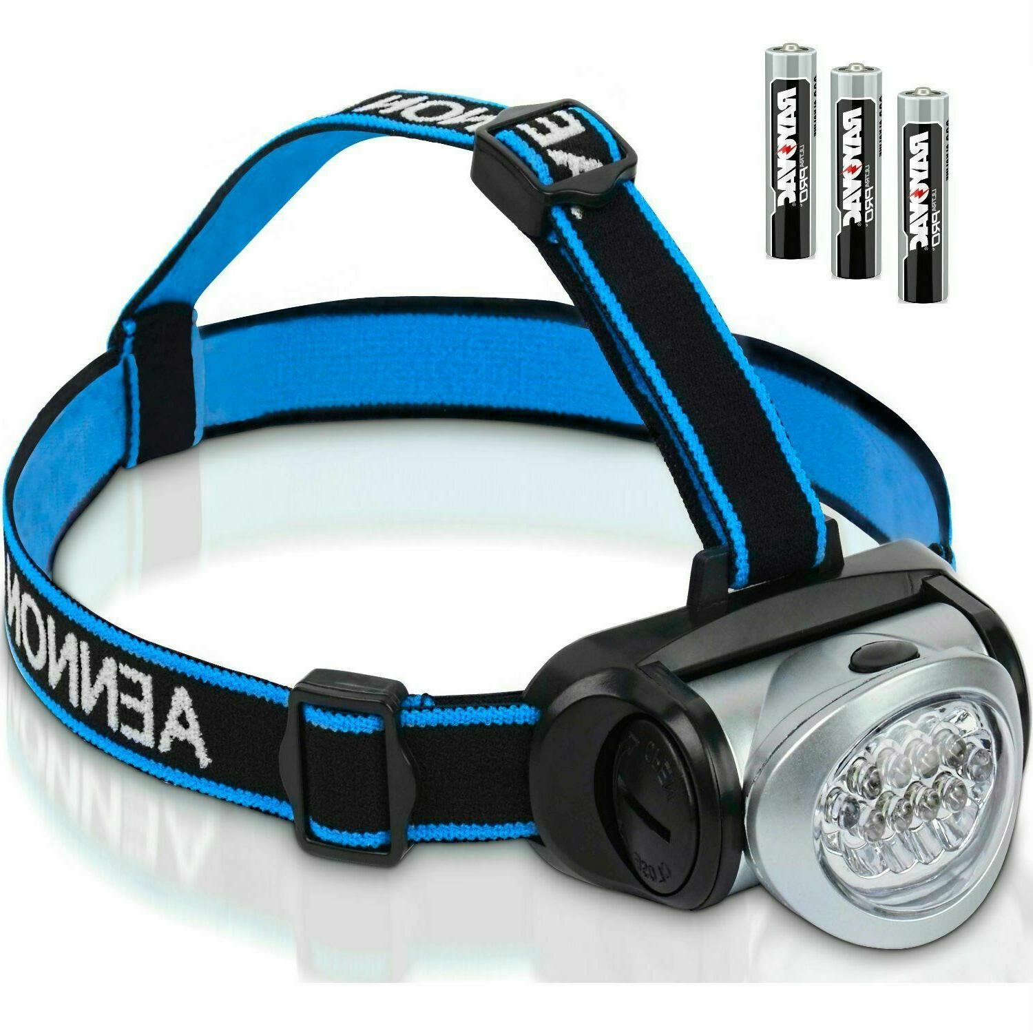 led headlamp flashlight with red lights