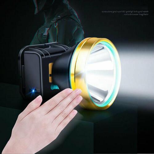 LED Headlamp Super Camping Headlight Head Torch Hands-free Flashlight US