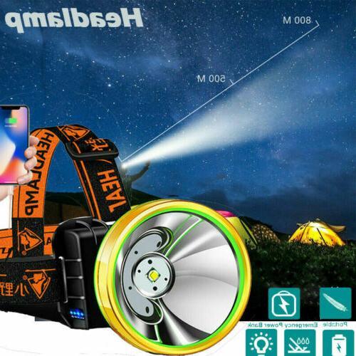 led headlamp super bright camping headlight head