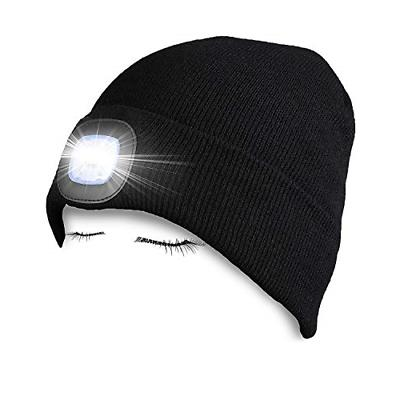 led light beanie hat headlamps flashlight tools