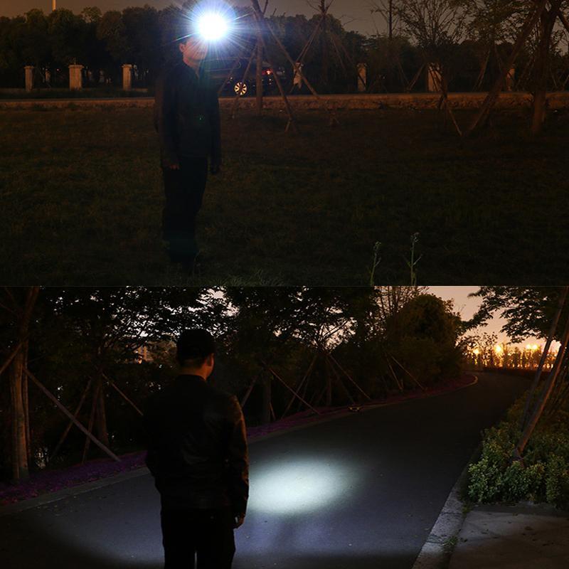Mini sensor head light cap <font><b>clip</b></font> light outdoor lighting lanterna Led