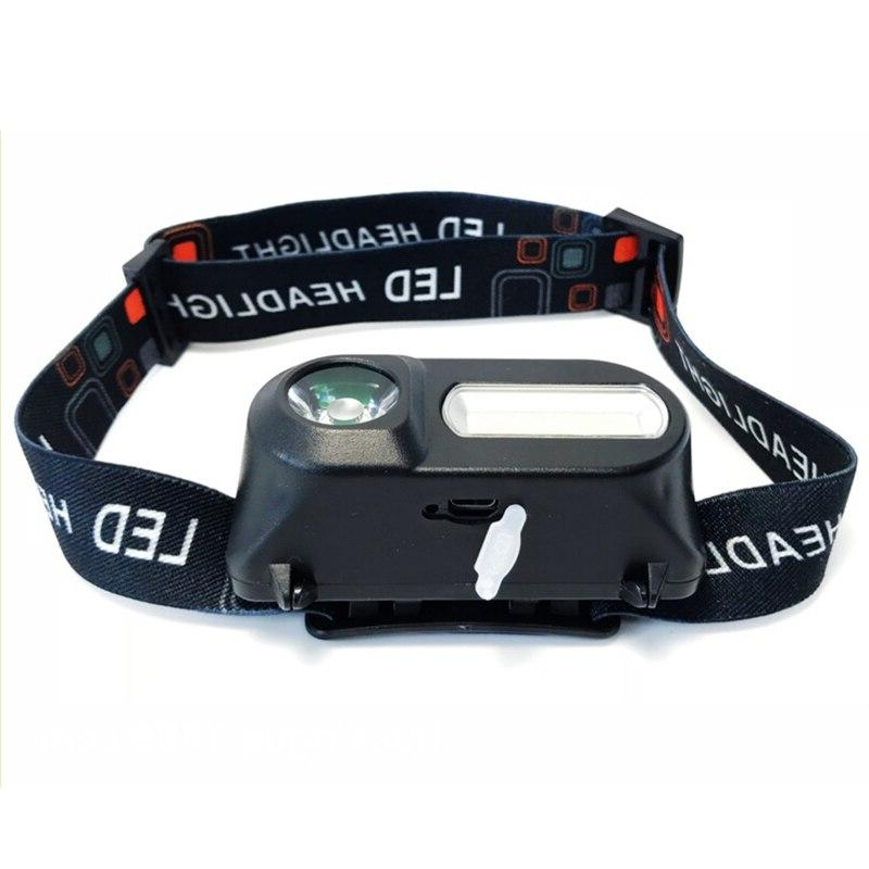 Mini portable outdoor XPE + headlight emergency with USB flashlight