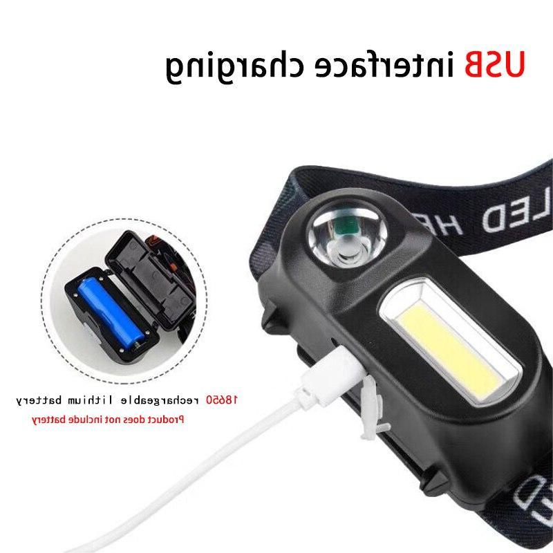 Mini portable outdoor <font><b>camping</b></font> XPE headlight with headlight flashlight