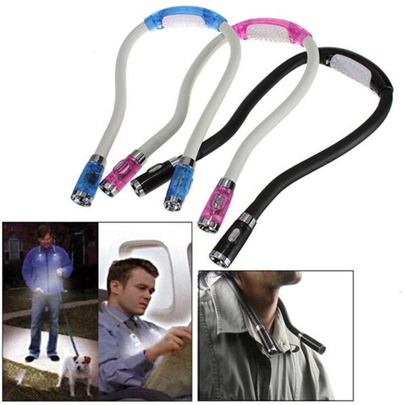 modern hanging neck hose led light portable