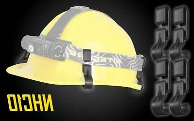 nitecore nhc10 helmet hard hat clips