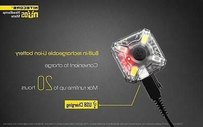 Nitecore NU05 35 White Red Rechargeable Headlamp Light
