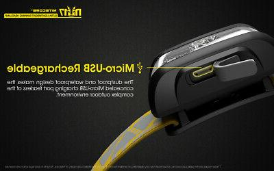 NITECORE NU17 Rechargeable Headlamp with Red Light and