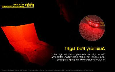 NITECORE NU17 Headlamp and Light