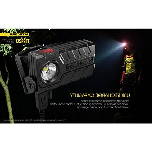 Nitecore 360 Lumens with Lumen Adapter and USB