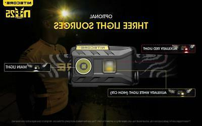 NITECORE NU25 White, Red, LED Headlamp