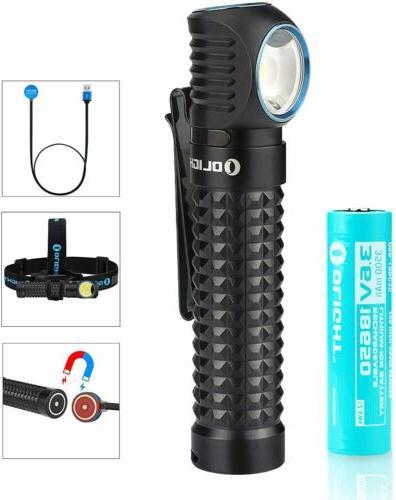 olight perun led flashlight kit headlamp headband