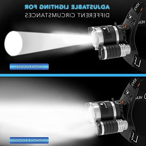 ONE Brightest and Best 16000 flashlight- LED, headlight Light, Bright Lights,