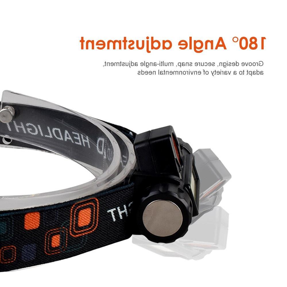 SUNYIMA Portable Outdoor headlight Mini lantern Q5+COB Multifunctional