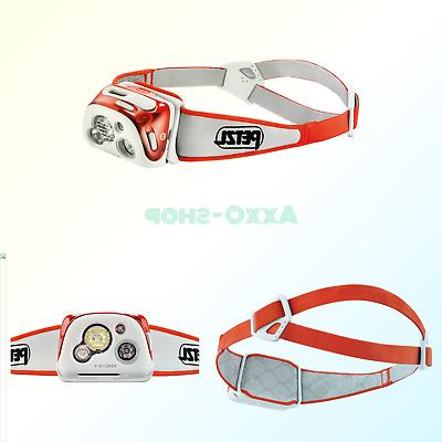 reactik headlamp 300 lumens bluetooth enabled coral