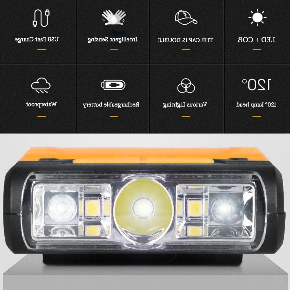 Rechargeable LED light Waterproof battery