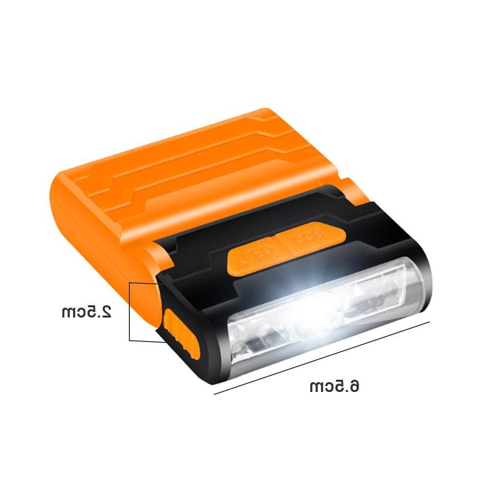 Rechargeable Motion Sensor Led <font><b>Headlamp</b></font> Hat Light Adjustable Waterproof Battery