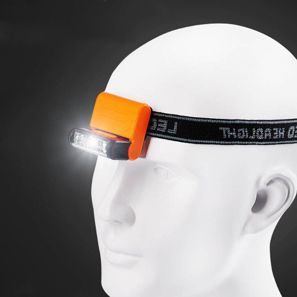 Rechargeable Body Led Hat <font><b>Clip</b></font> Light Adjustable Waterproof Battery
