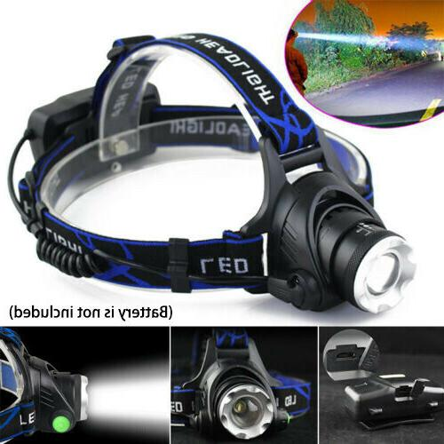 Rechargeable Tactical LED Headlamp 1865*0 Headlight Head Torch