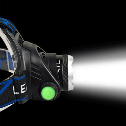 Rechargeable Tactical T6 LED Headlamp Head Torch